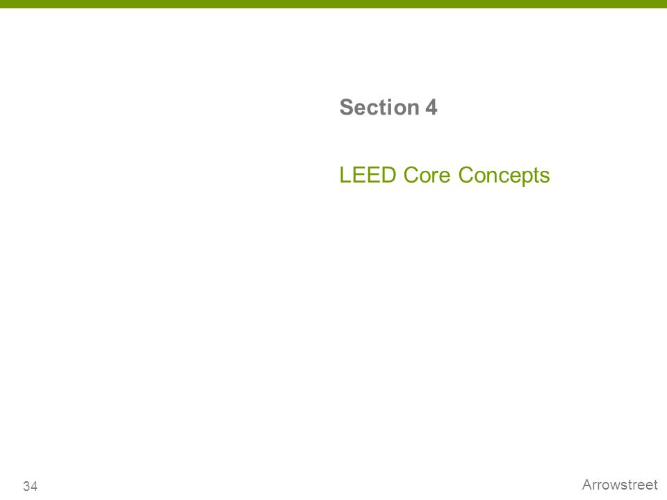 Section 4 LEED Core Concepts