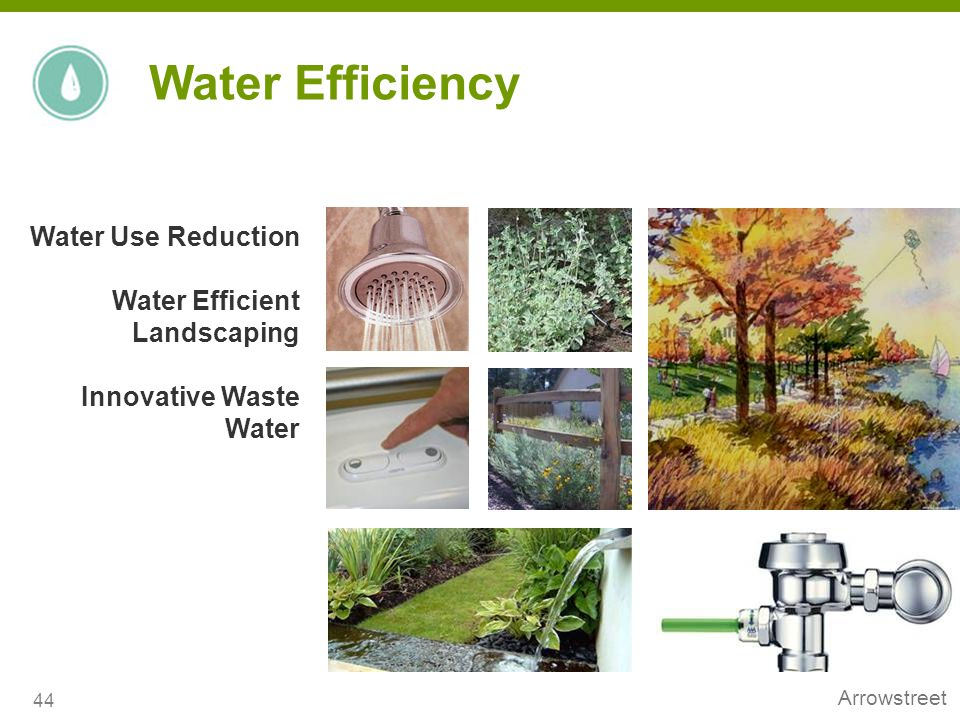 Water Efficiency Water Use Reduction Water Efficient Landscaping