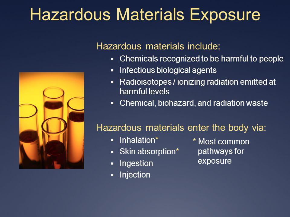 Hazardous Materials Exposure