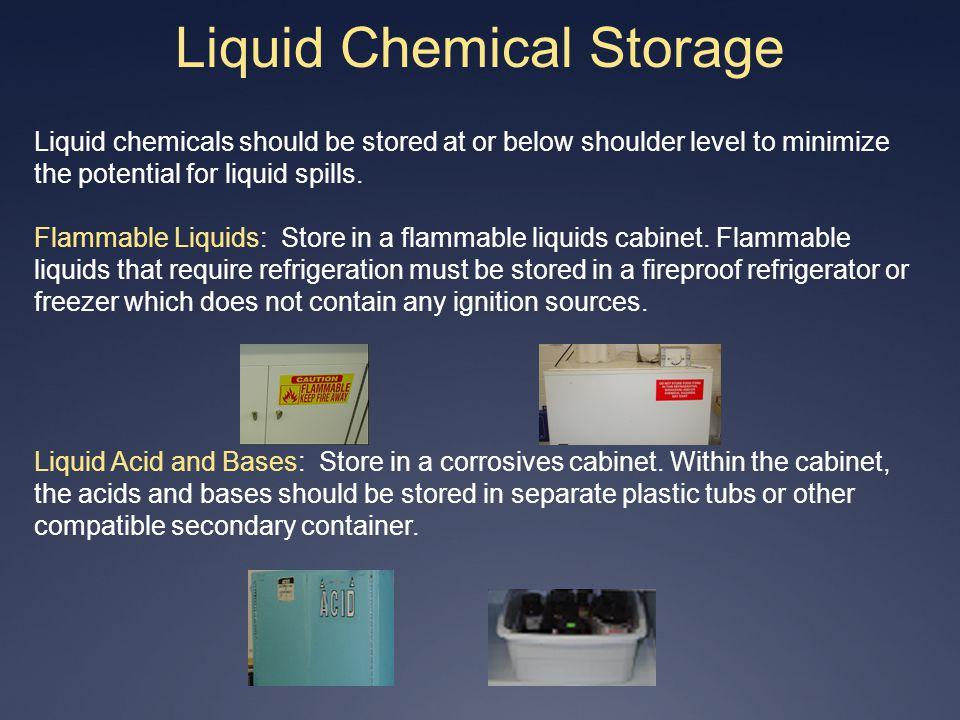 Liquid Chemical Storage