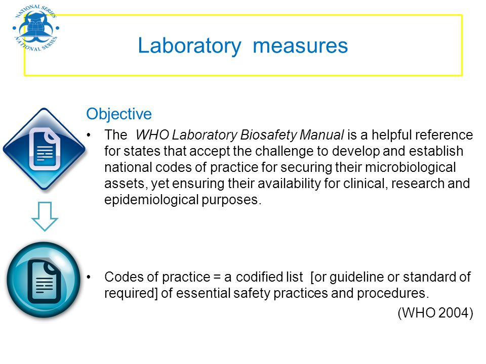 Laboratory measures Objective