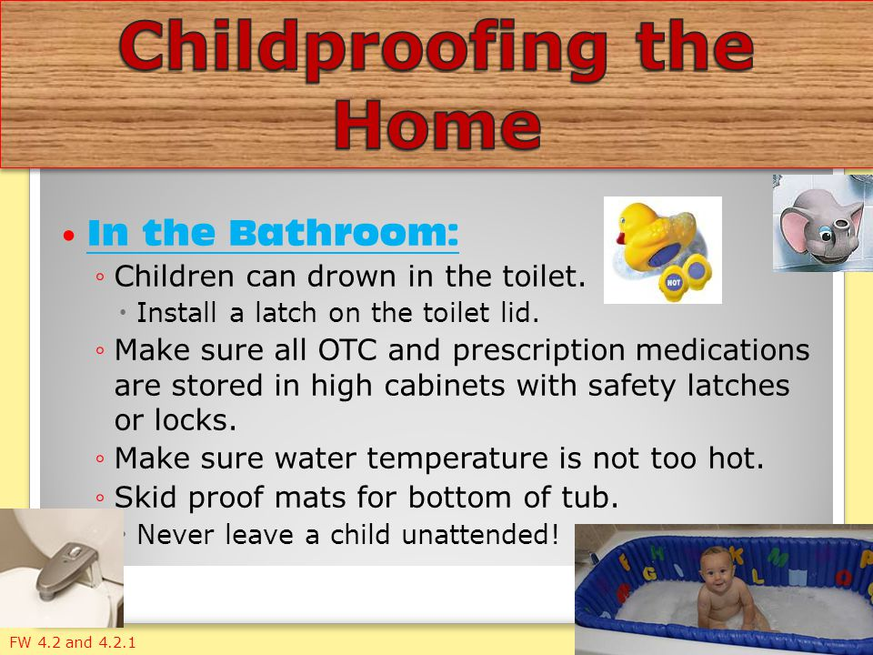 Childproofing the Home