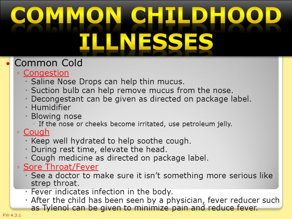 9 Childhood Illnesses: Get the Facts