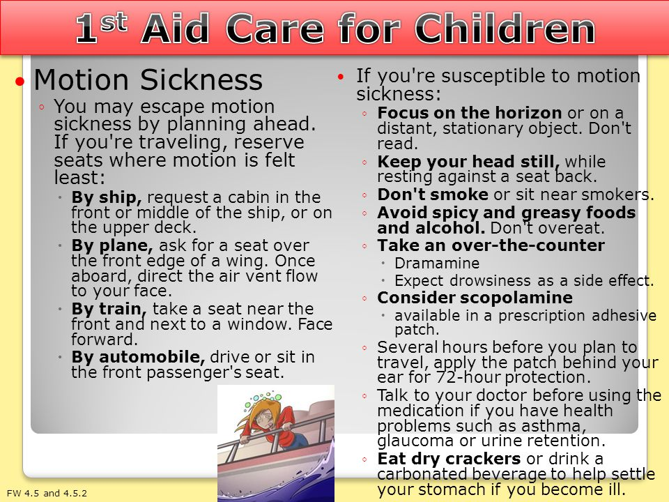 1st Aid Care for Children