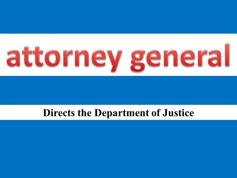 Directs the Department of Justice