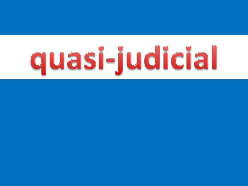 quasi-judicial