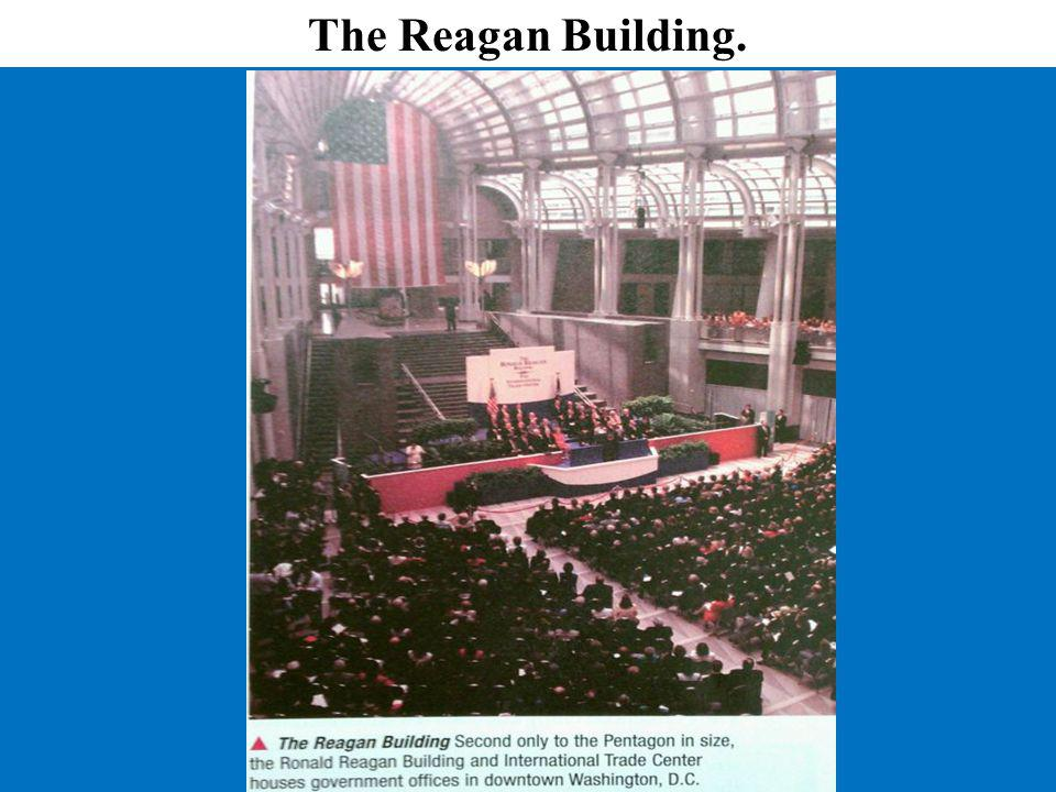 The Reagan Building.