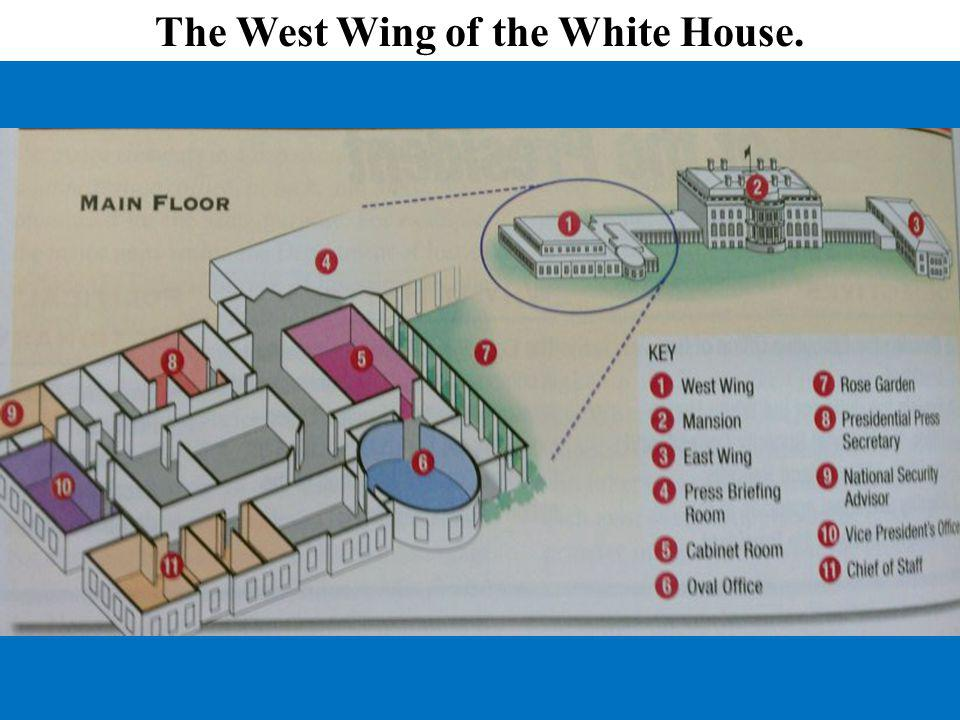 The West Wing of the White House.