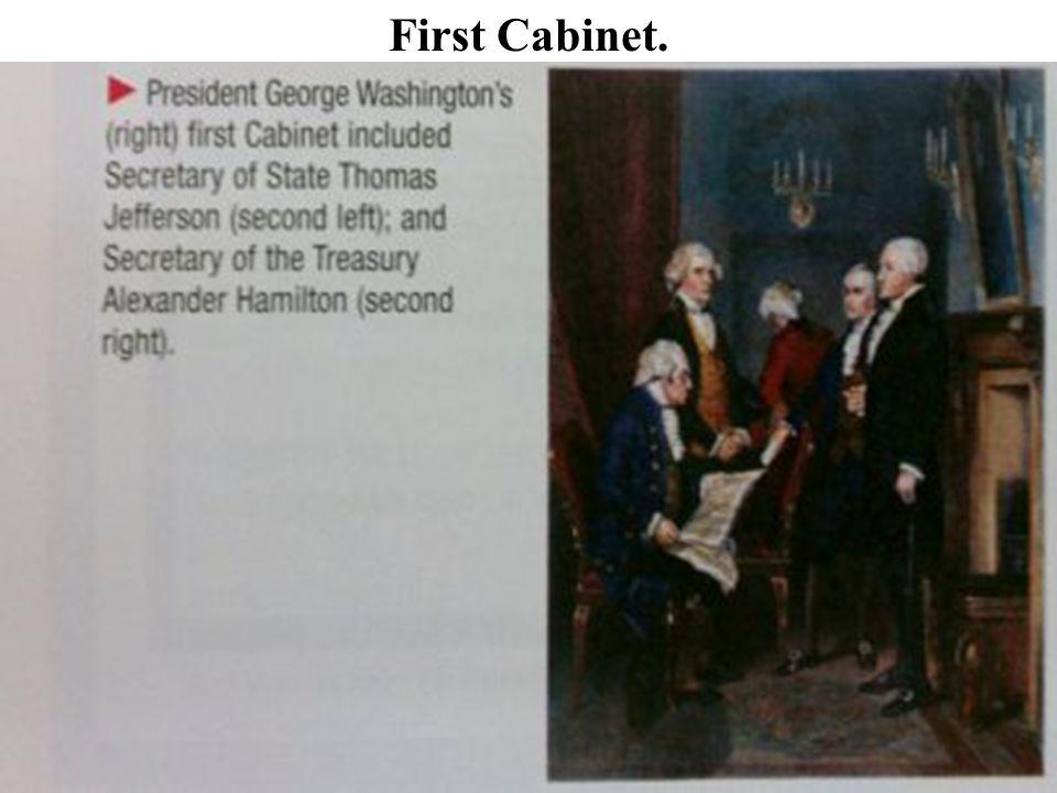 First Cabinet.