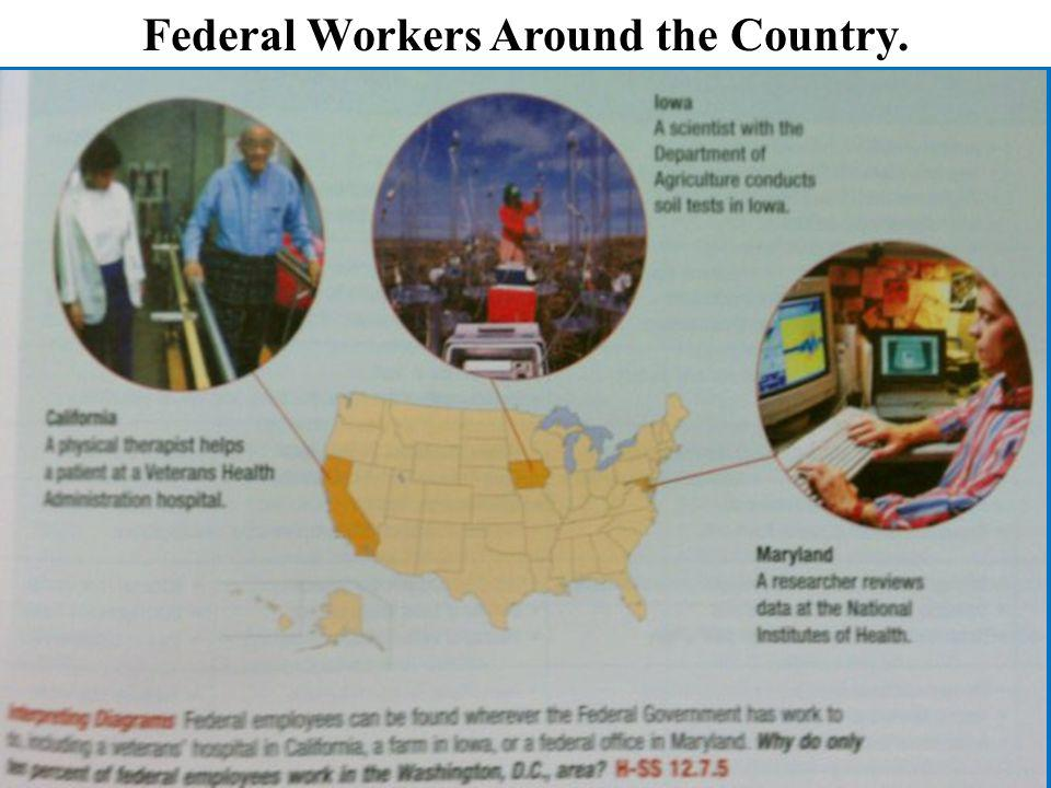 Federal Workers Around the Country.