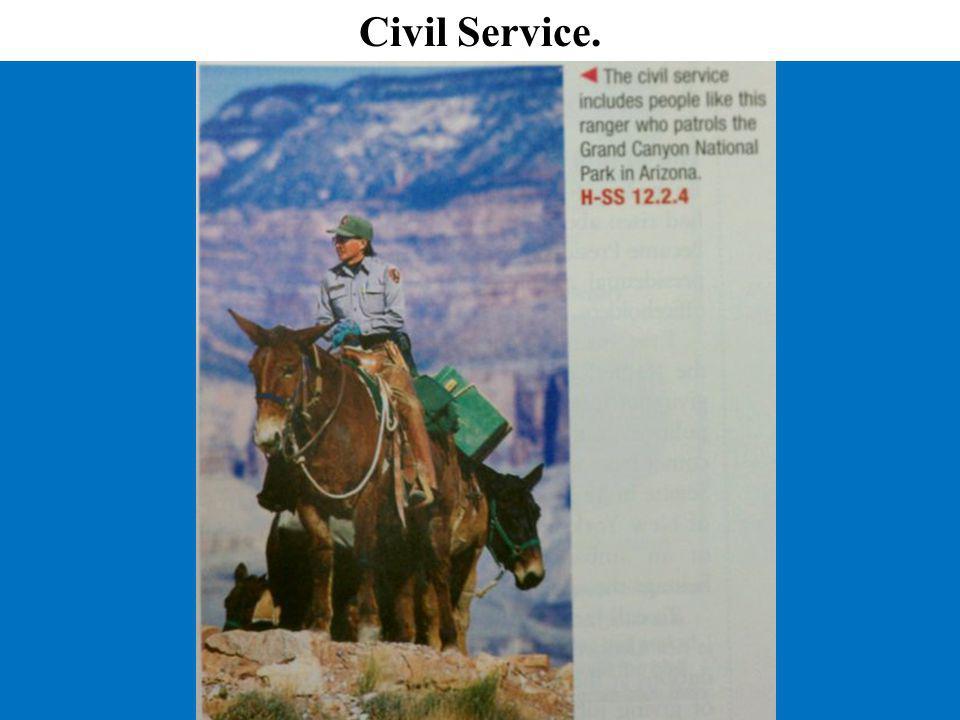 Civil Service.