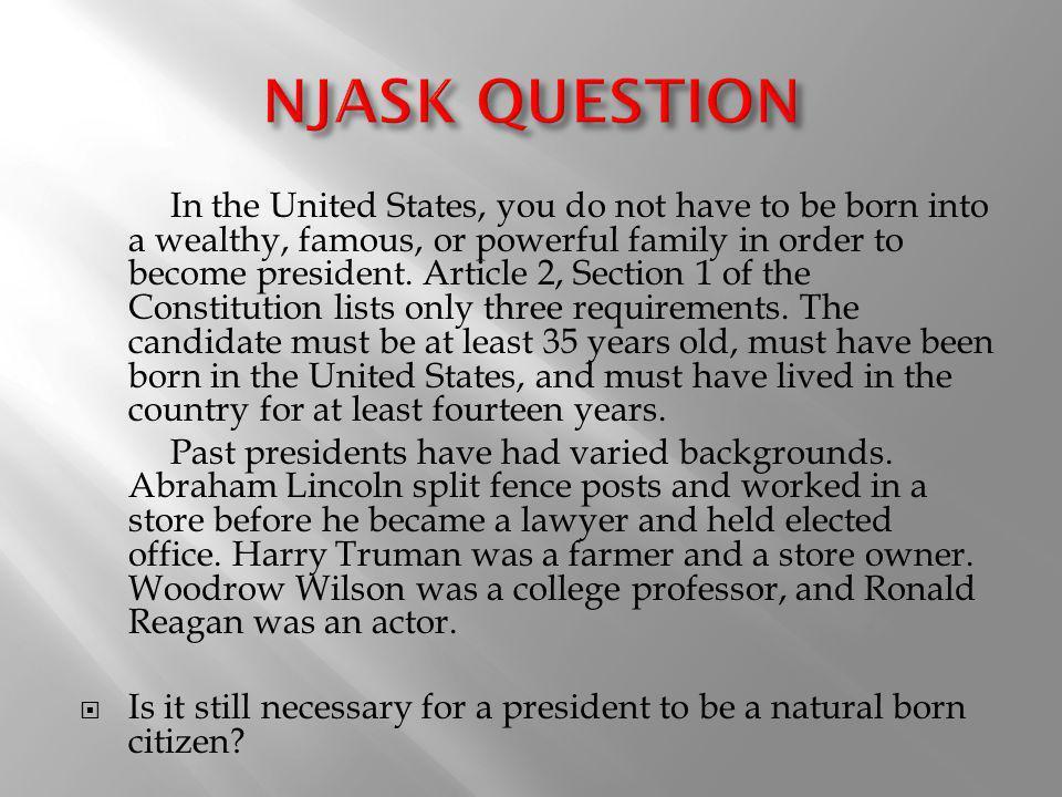NJASK QUESTION