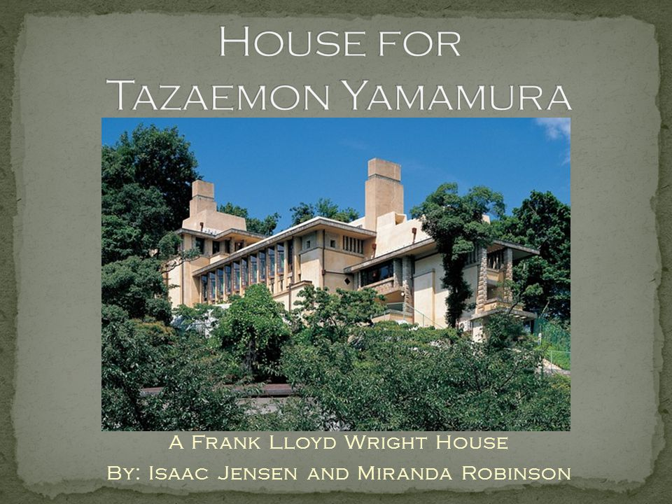 House for Tazaemon Yamamura
