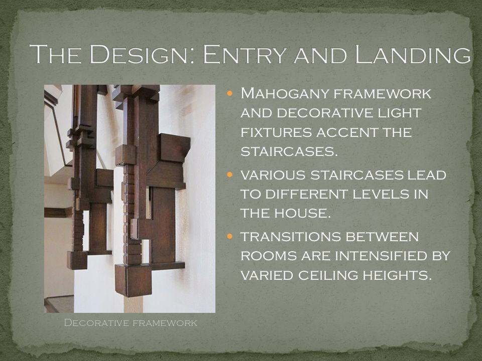 The Design: Entry and Landing
