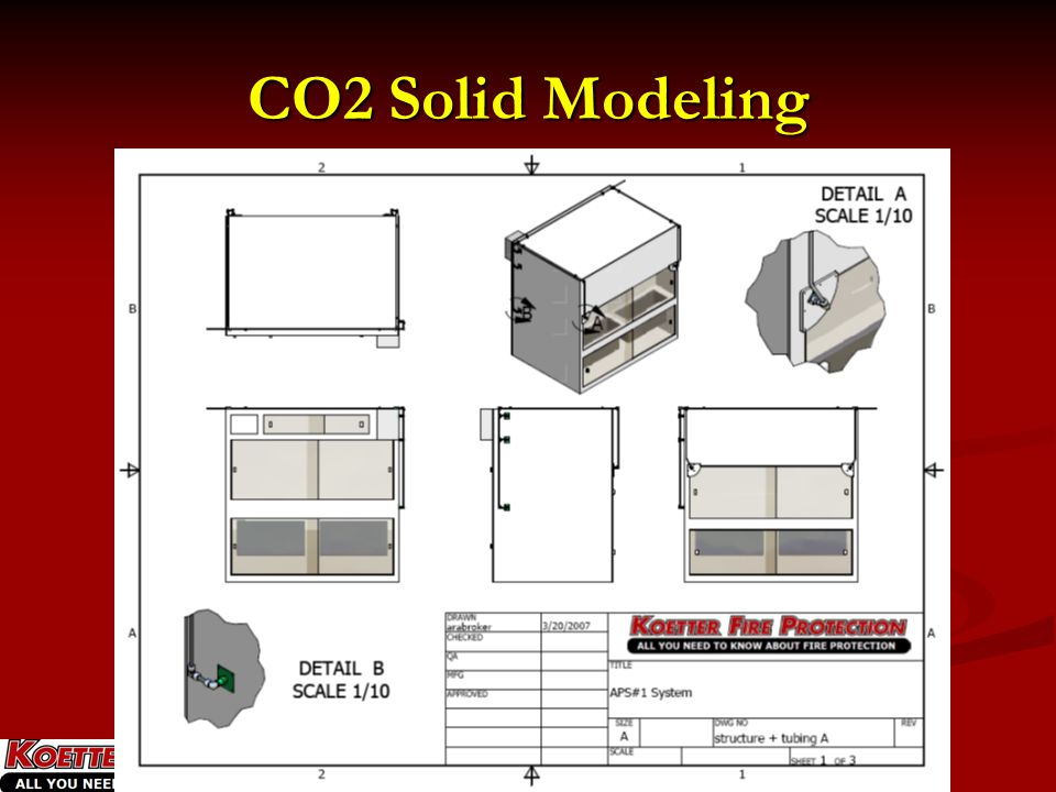 CO2 Solid Modeling