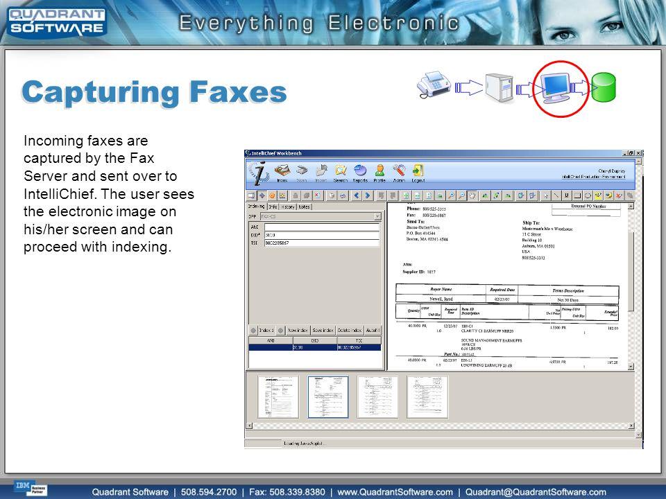 Capturing Faxes