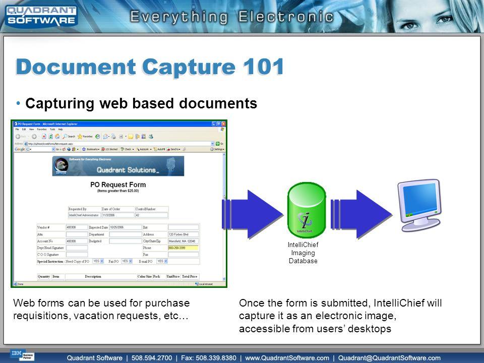 IntelliChief Imaging Database
