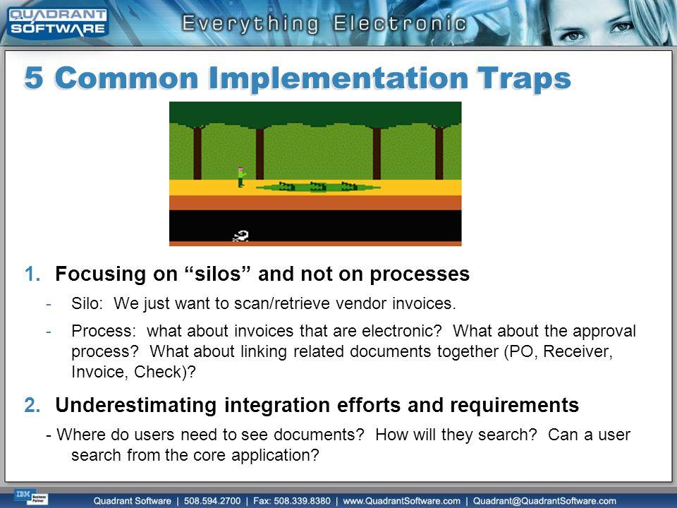 5 Common Implementation Traps
