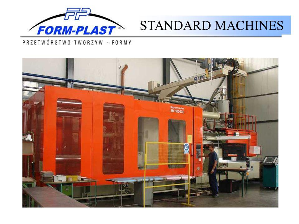 STANDARD MACHINES MACHINES