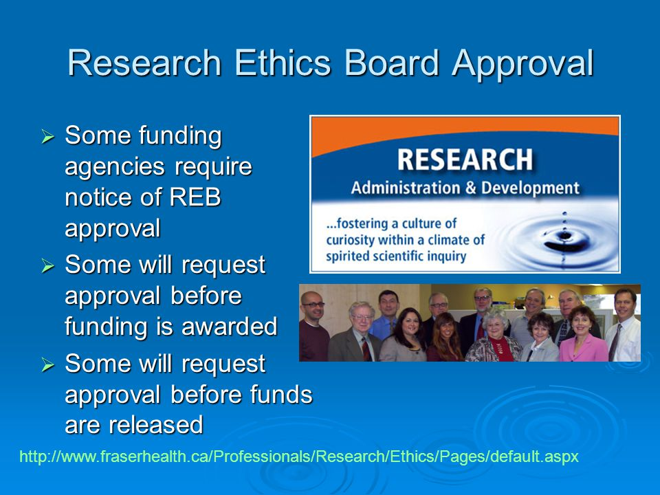 Research Ethics Board Approval