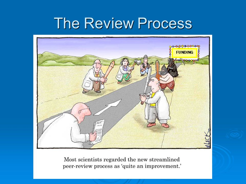 The Review Process FUNDING