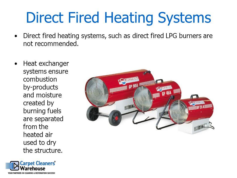 Direct Fired Heating Systems