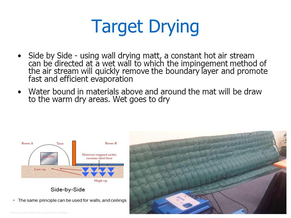 Target Drying