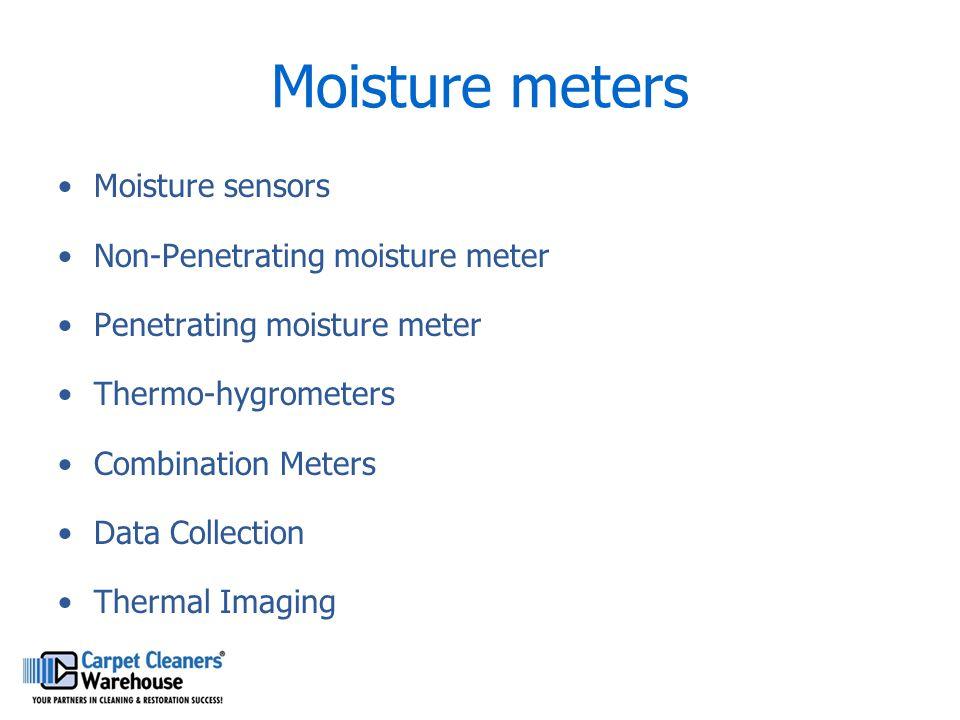 Moisture meters Moisture sensors Non-Penetrating moisture meter