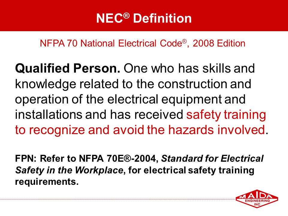 NFPA 70 National Electrical Code®, 2008 Edition