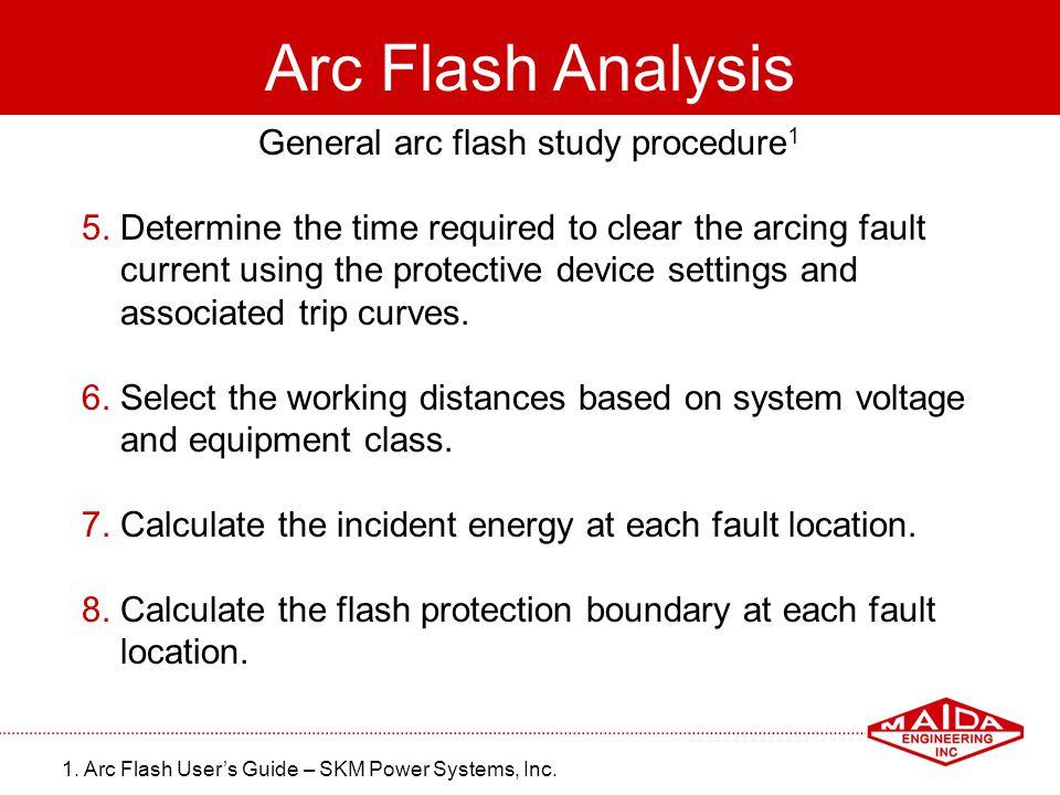 General arc flash study procedure1
