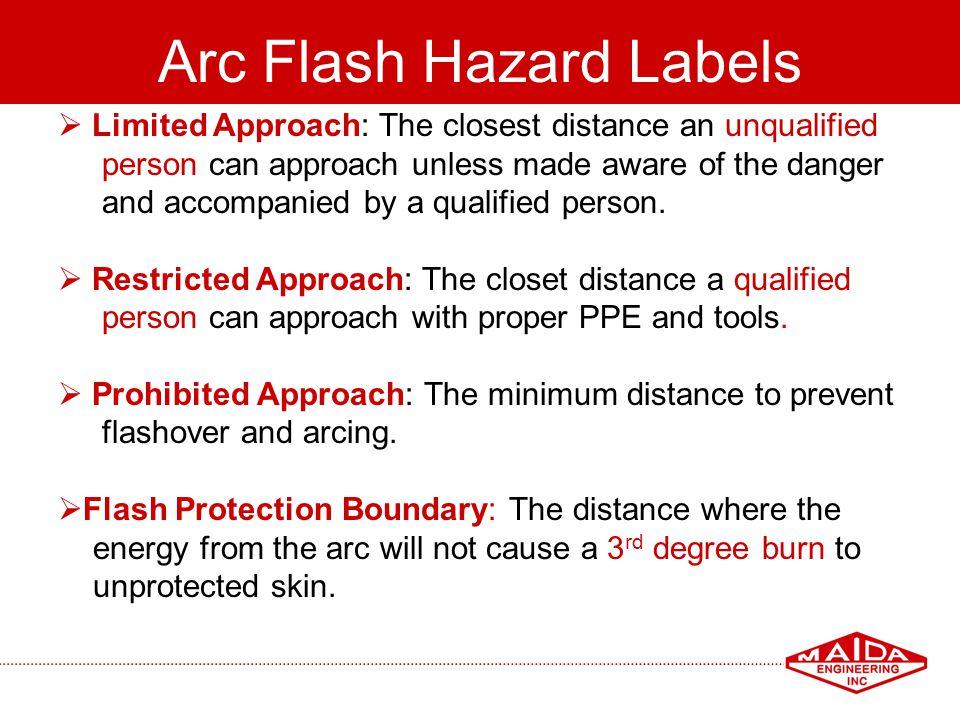 Arc Flash Hazard Labels
