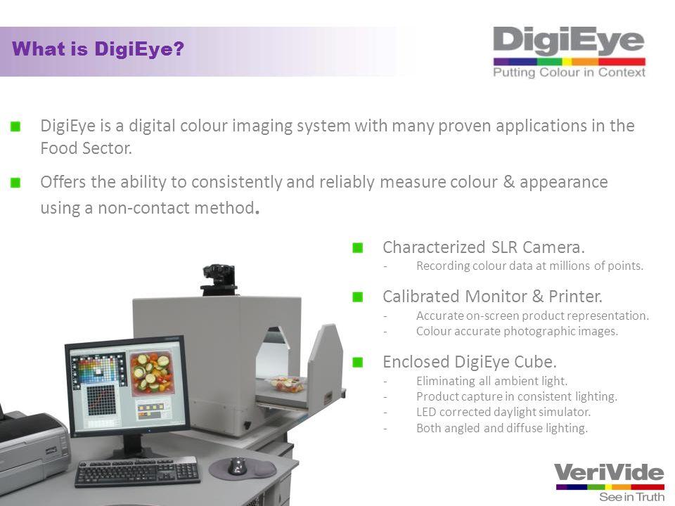 Characterized SLR Camera. Calibrated Monitor & Printer.
