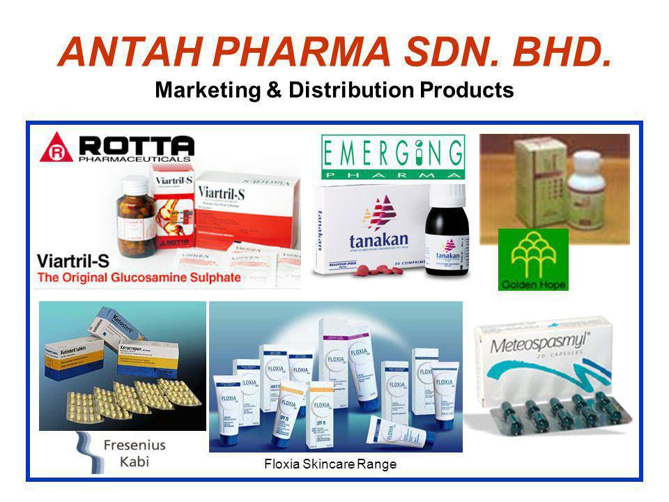 ANTAH PHARMA SDN. BHD. Marketing & Distribution Products