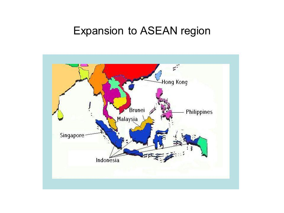Expansion to ASEAN region