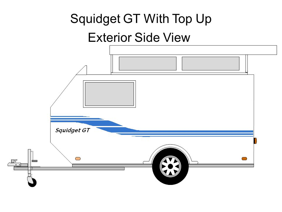 Squidget GT With Top Up Exterior Side View