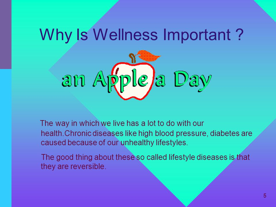 Why Is Wellness Important