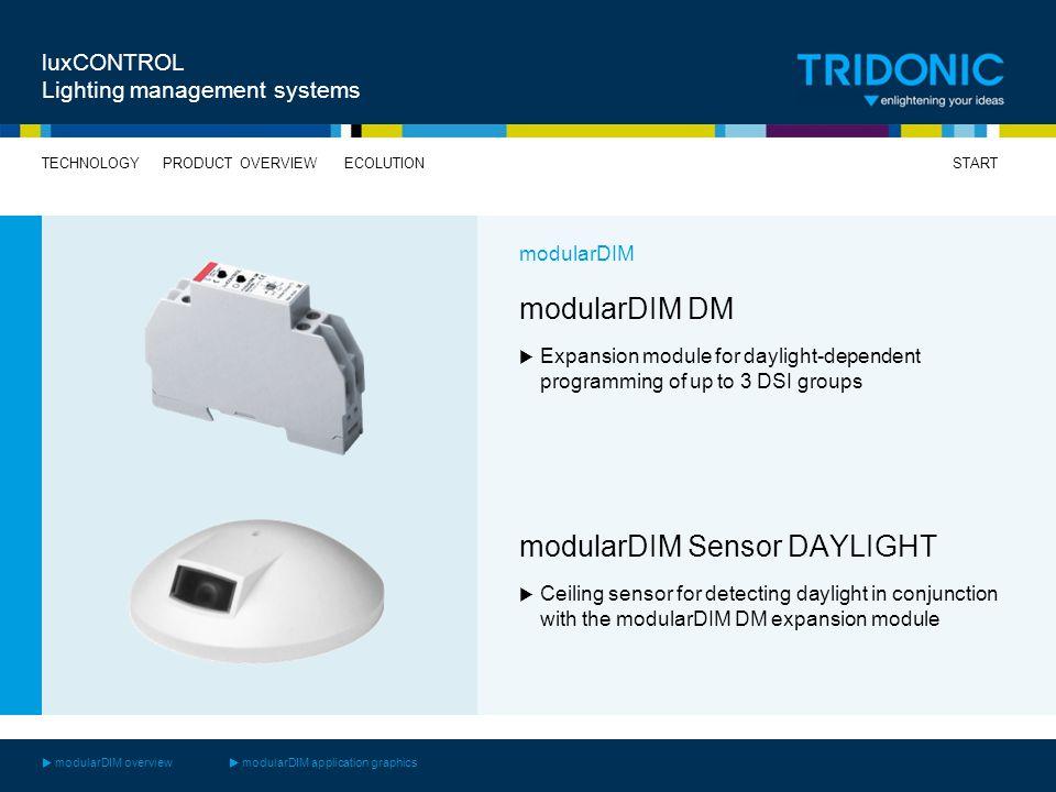 modularDIM Sensor DAYLIGHT