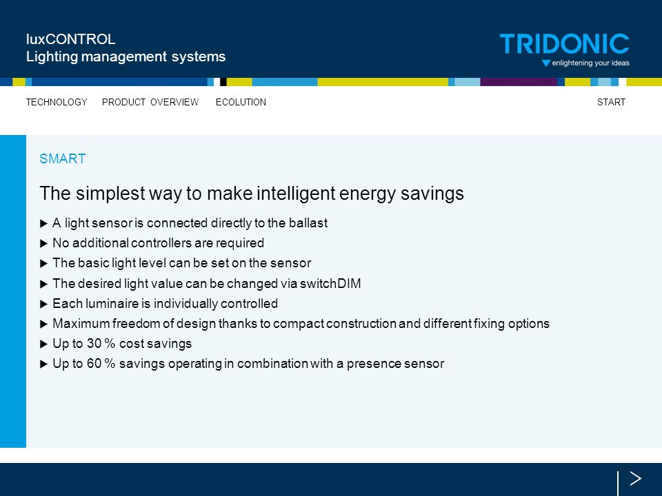 The simplest way to make intelligent energy savings