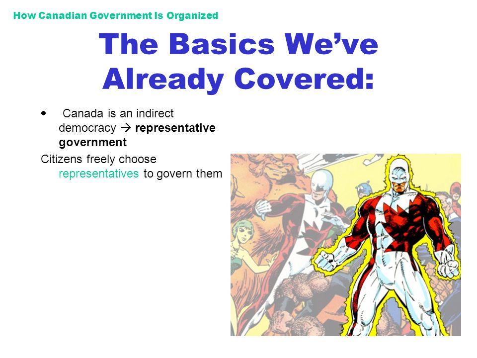 The Basics We've Already Covered: