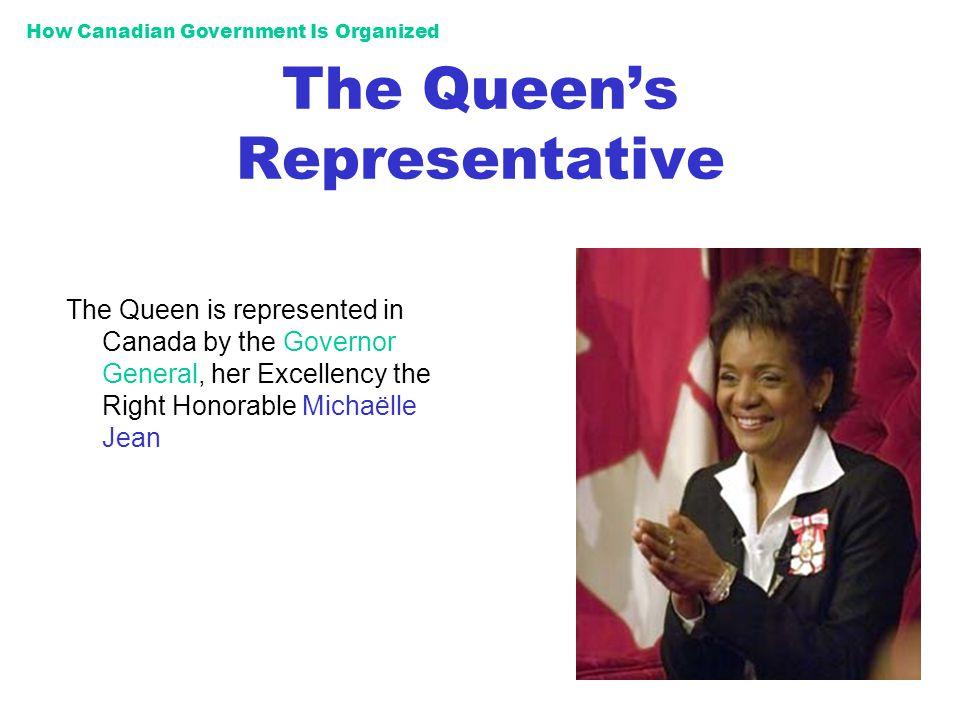 The Queen's Representative