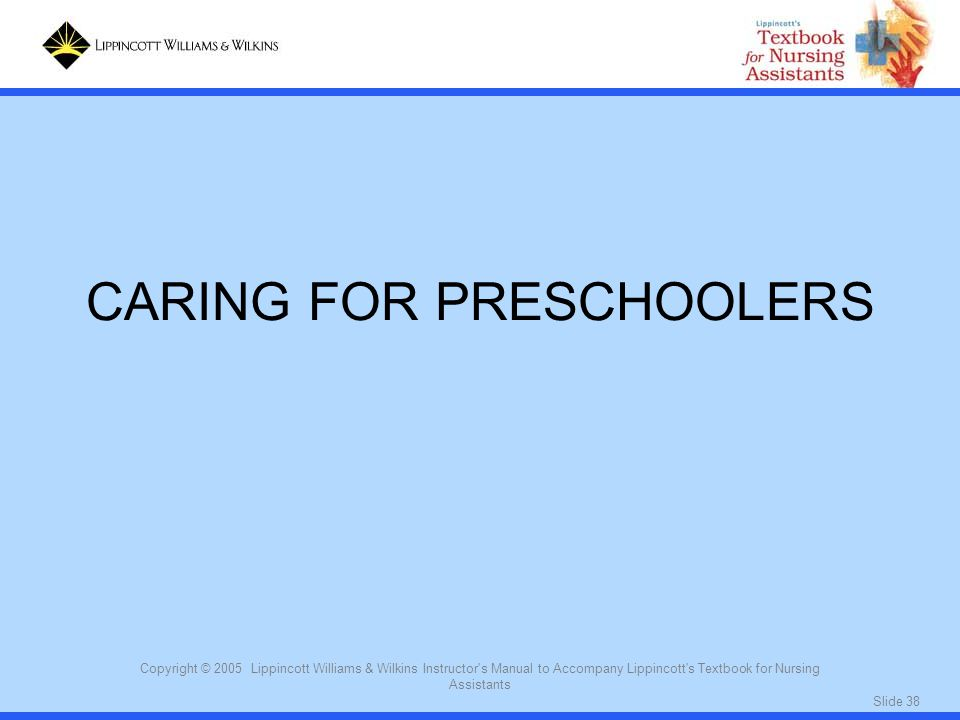 CARING FOR PRESCHOOLERS