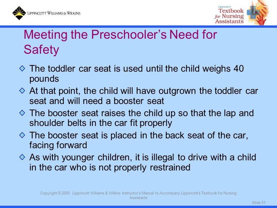 Meeting the Preschooler's Need for Safety