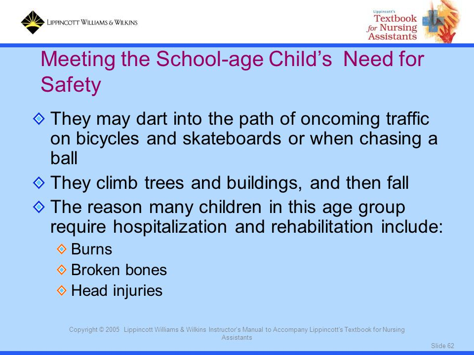 Meeting the School-age Child's Need for Safety