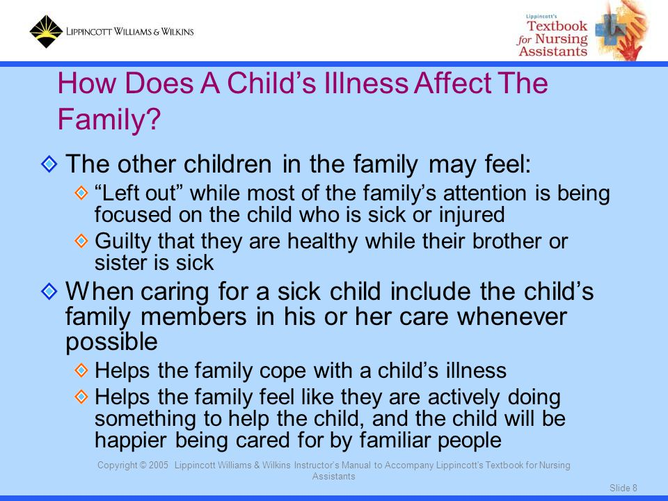 How Does A Child's Illness Affect The Family