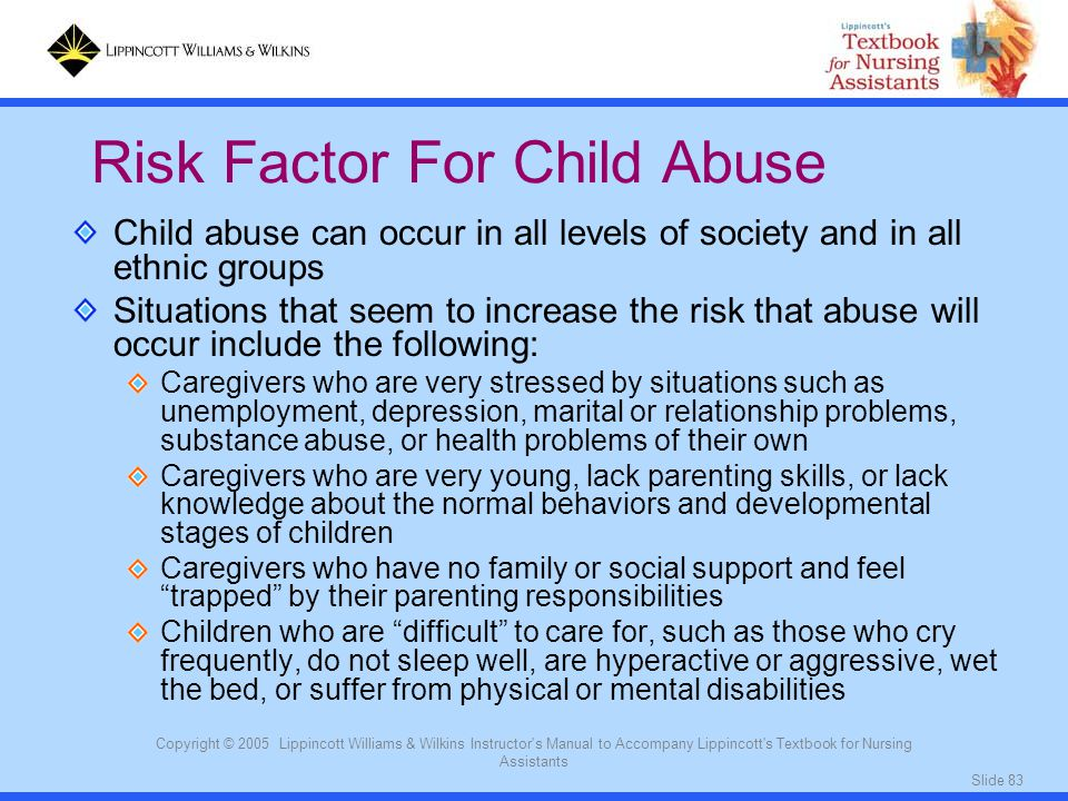 Risk Factor For Child Abuse