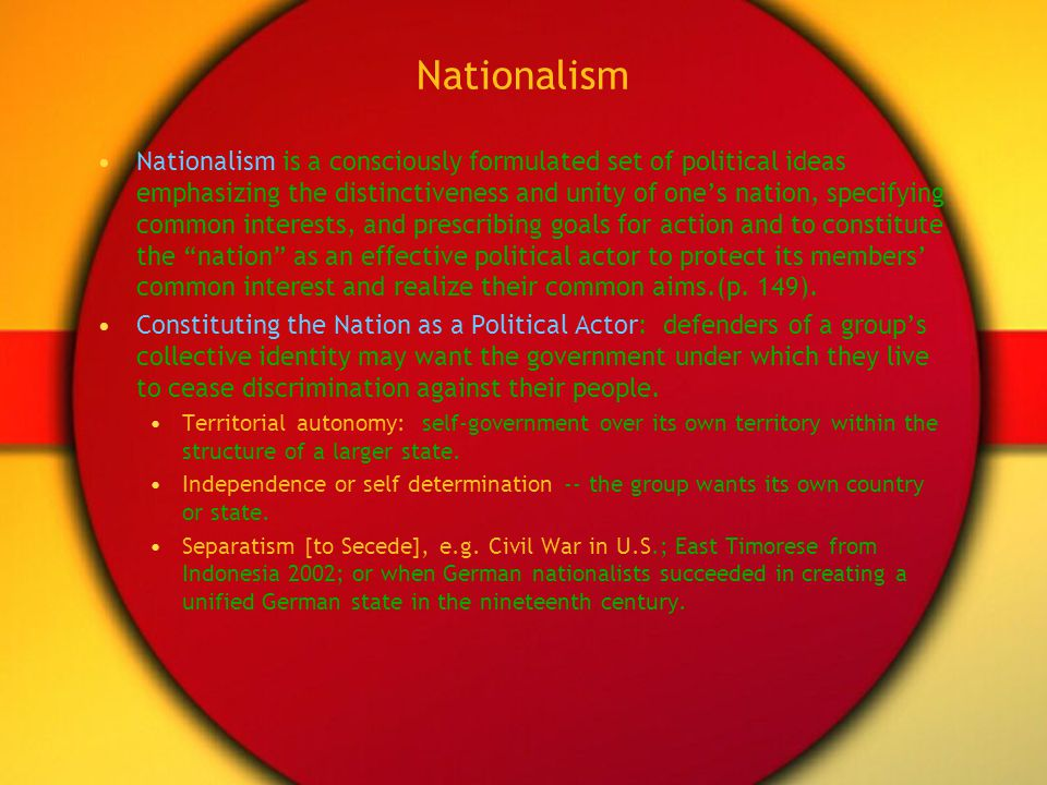 Essay Sample on German nationalism