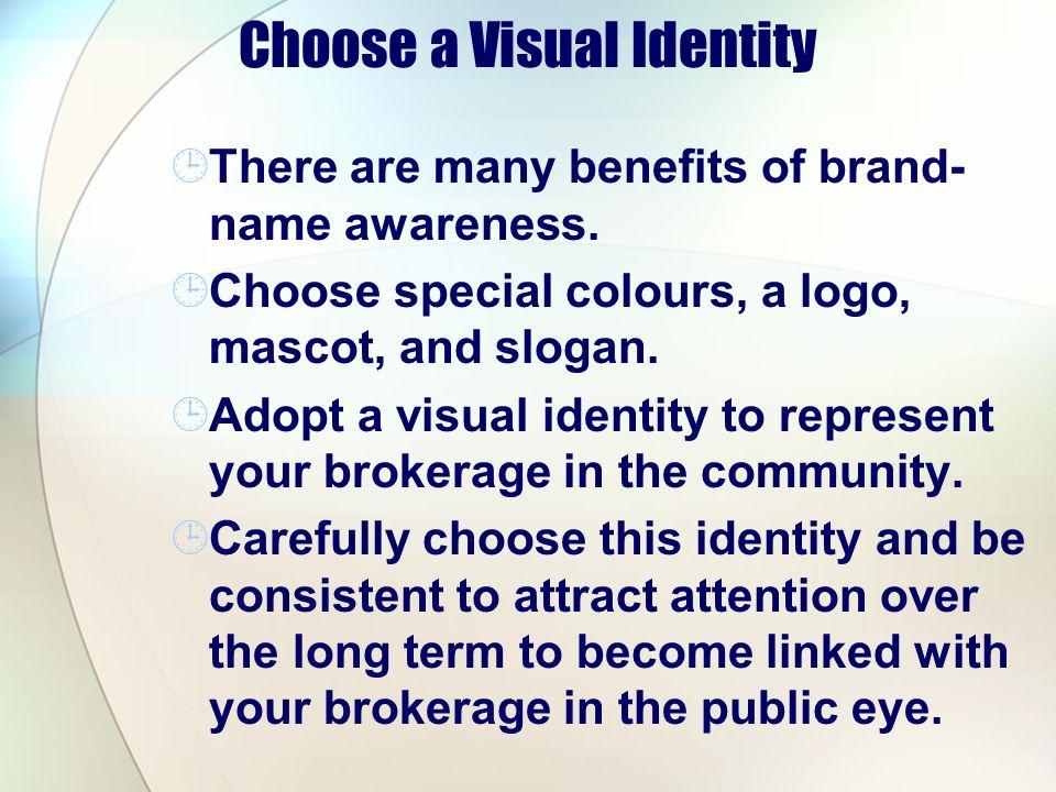 Choose a Visual Identity