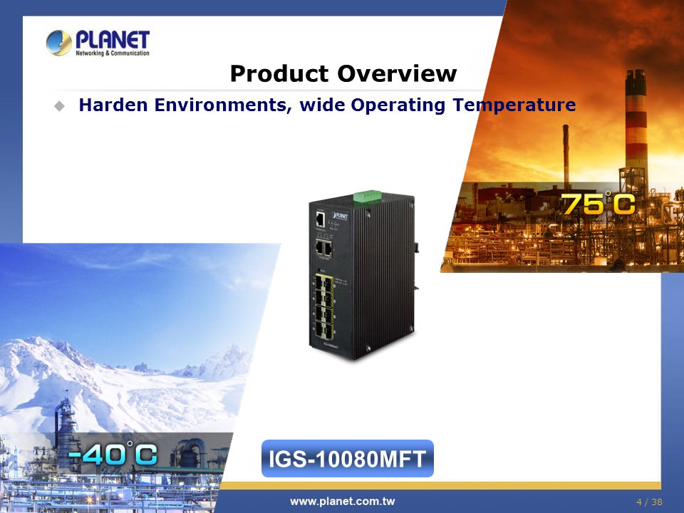 Product Overview IGS-10080MFT