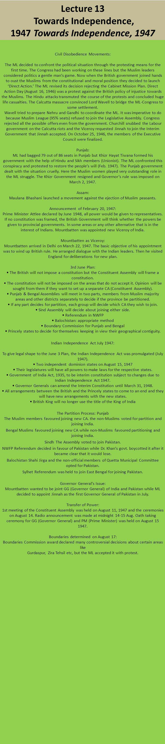 Lecture 10 - The Congress Ministries-- Policies towards Muslims The Congress Ministries-- Policies towards Muslims