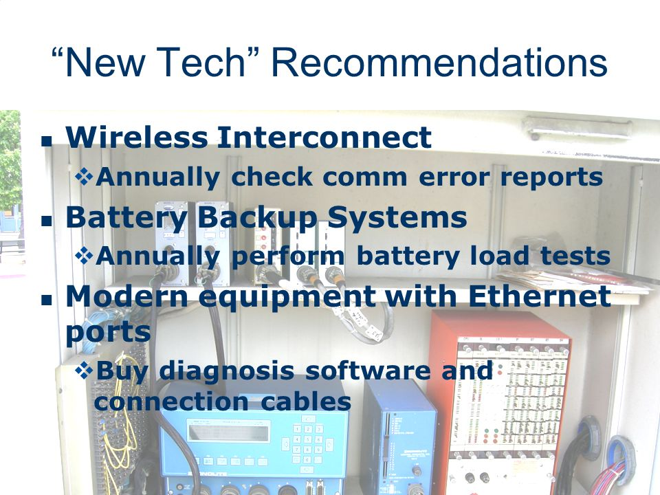 New Tech Recommendations